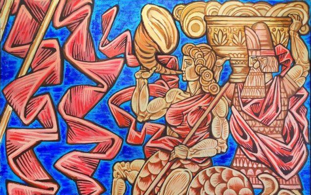 Пантеон Богов. 130х420 10 декабря 2013
