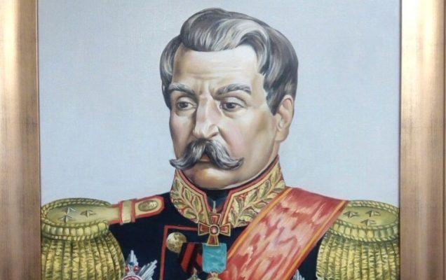 Лишин Андрей Фёдорович, 70х90 см. 2019г.