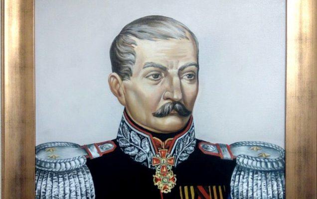 Фёдор Карлович Притвиц. 70х90 см. 2019г.