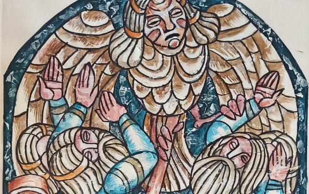 Нападение ведьмы Лоухи, руна 43