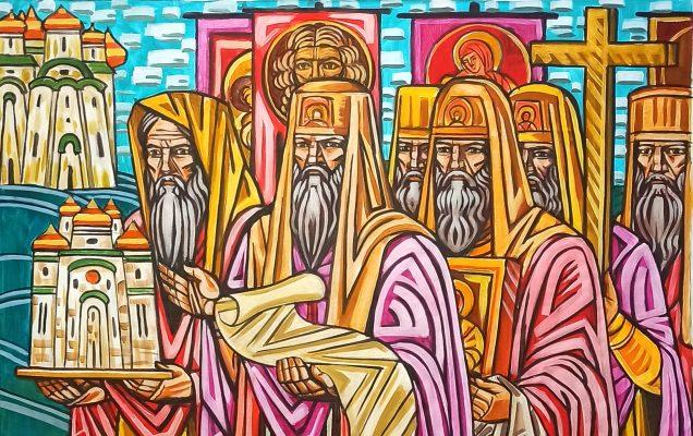 Триптих Невский 1