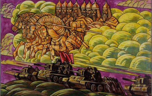 Александр Невский и небесное воинство во время Великой Отечественной войны