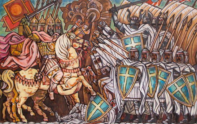 Невская битва 1240 г